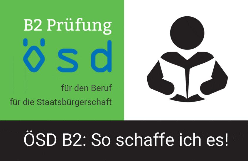 ÖSD Zertifikat B2: So schaffe ich es!