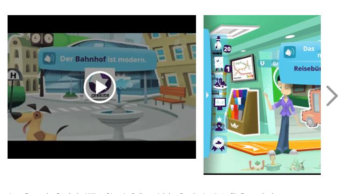 Goethe Institut Deutsch Lernen App Stadt der Wörter - Deutsch Apps