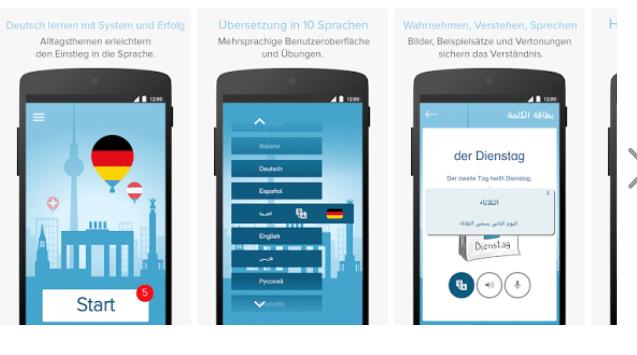 Hallo Deutsch App zum Lernen - Deutsch Apps