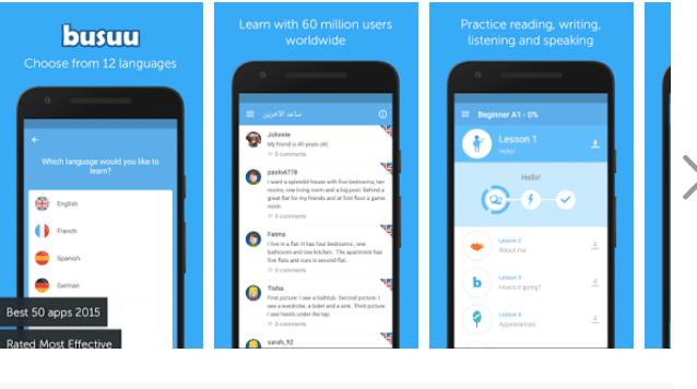 Busuu App zum Deutsch Lernen - Deutsch Apps