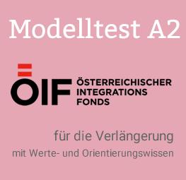 ÖIF Prüfung A2 Modelltest