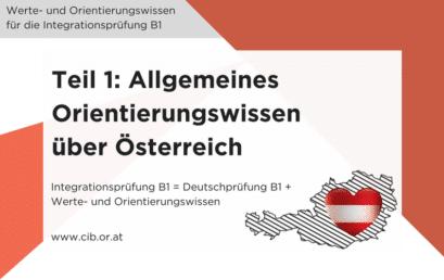 Werte und Orientierung: Der ÖIF Fragenkatalog zur Integrationsprüfung B1