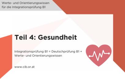 Integrationsprüfung: Thema Gesundheit
